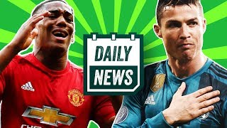 TRANSFER NEWS: Martial to Chelsea + Real Madrid UCL Final + Roma vs Liverpool ► Daily Football News