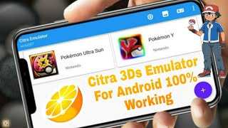 How to download and play 3ds emulator and pokemon ultra sun for Android citra 3ds