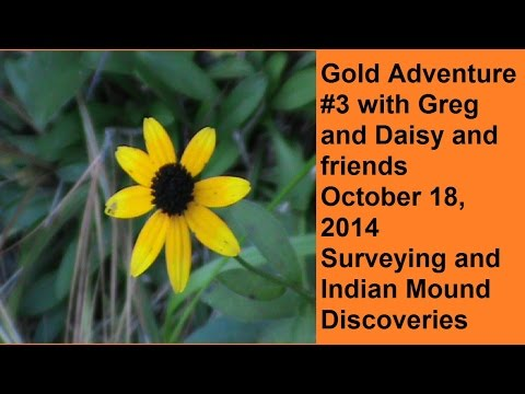 Gold Adventure #3 - In search of gold near America's first recorded gold rush