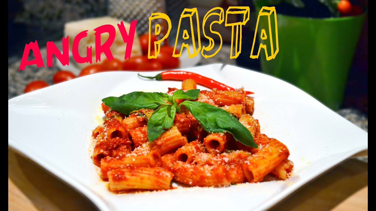 Angry pasta arrabbiata recipe italian vegetarian tradition angry pasta arrabbiata recipe italian vegetarian tradition spice it up ep4 youtube forumfinder Choice Image