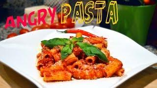 Angry pasta (arrabbiata) recipe  italian vegetarian tradition  spice it up ep.4