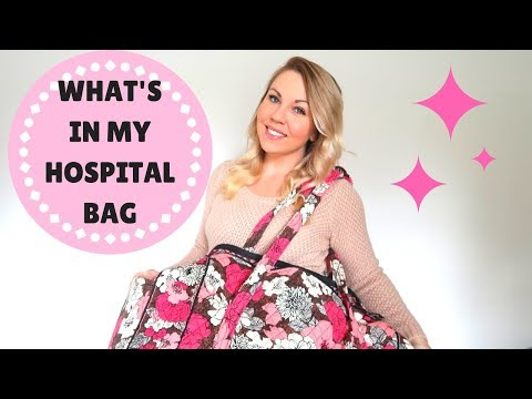 WHAT'S IN MY HOSPITAL BAG | labor & delivery | second pregnancy