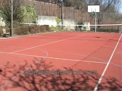 Ghost On Tennis Court Youtube