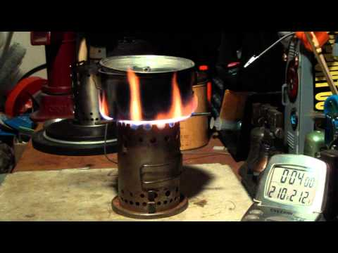 Vulcan Safety Chef Camp Stove - Boil Test #1 - (With Vulcan Fuel Can)