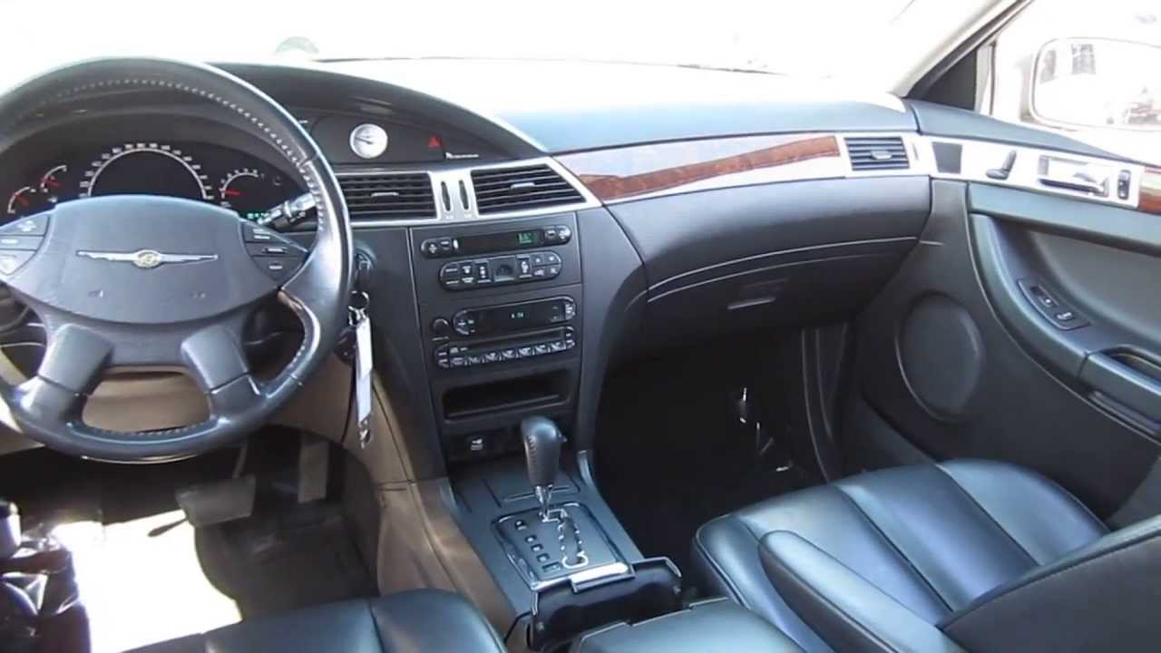 2006 Chrysler Pacifica Blue Stock L841965 Interior Youtube