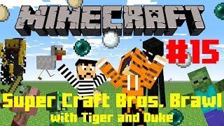 """NANANANA BATMANNN!!"" Super Craft Bros. w/ Tiger and Duke #15 (Minecraft)"