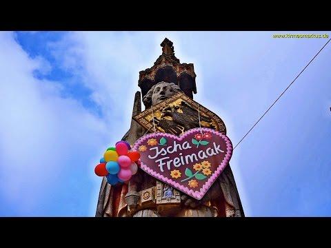 Freimarkt Bremen - Das größte Volksfest im Norden - Ischa Freimaak 2016 - Clip by kirmesmarkus