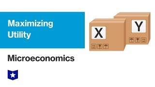 Maximizing Utility | Microeconomics