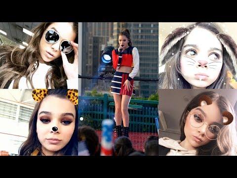 Hailee Steinfeld  Best Snapchat Moments   2