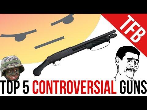 Top 5 Most Controversial Guns + NASCAR Isn't A Sport