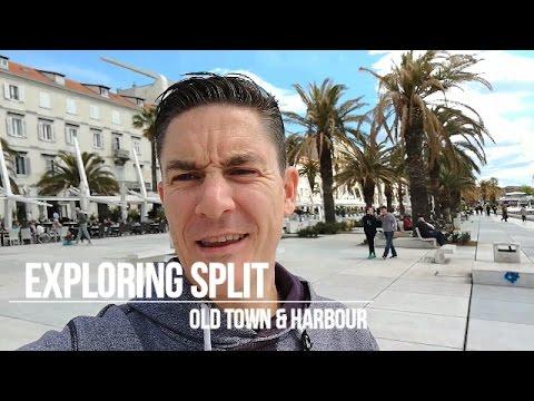 Split Old Town & Harbour, Croatia - Day 2
