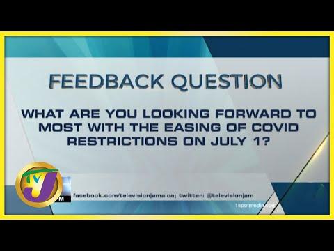 Feedback Question | TVJ News - June 29 2021