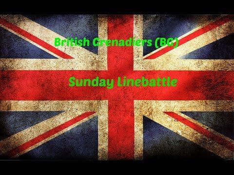 British Grenadiers Sunday Linebattle 28/9/14