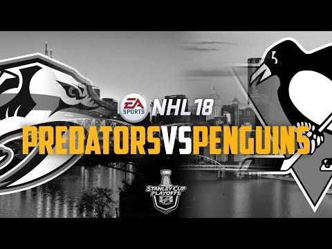Nashville Predators vs. Pittsburgh Penguins | SCF G7 | NHL 18