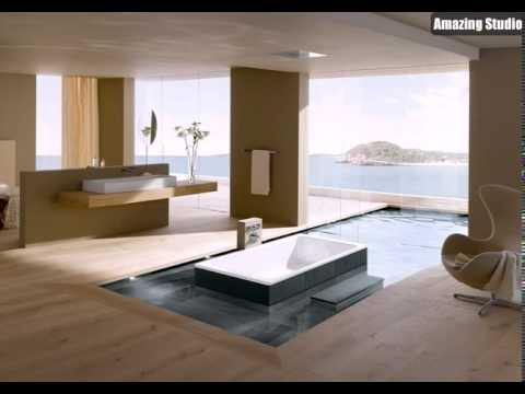 Open Plan Luxus Bad en Suite - YouTube