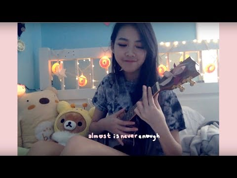 ALMOST IS NEVER ENOUGH COVER- Ariana Grande