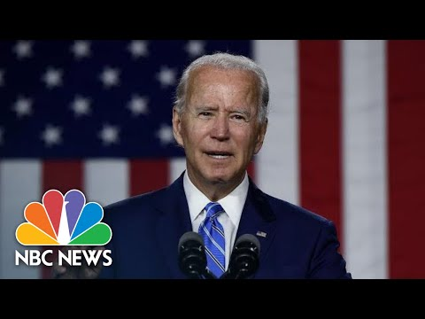 Biden Holds Drive-In Rally In Florida | NBC News