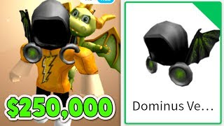 BUYING MY FIRST DOMINUS!! *NOT CLICKBAIT* (Roblox)