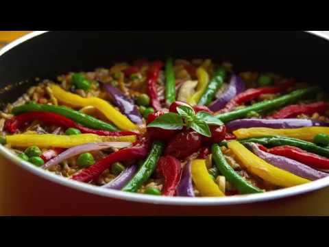 Paella de legumes | Receitas Saudáveis – Lucilia Diniz