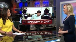"""El Chapo"" to appear in Brooklyn court"