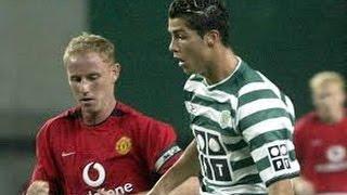 Первая встреча  Криштиану Роналду с  Манчестер Юнайтед 2003 г.