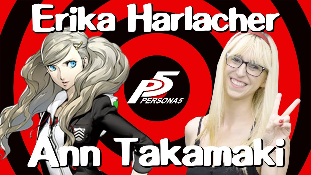 Erika Harlacher (Voice of Ann Takamaki from Persona 5) Interview | Behind the Voice