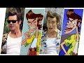 Ace Ventura Evolution in Movies & Cartoons.