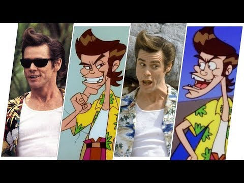 Ace Ventura Evolution in Movies & Cartoons.