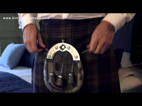 How To Wear A Kilt And Highland Dress Outfit By Kinloch Anderson