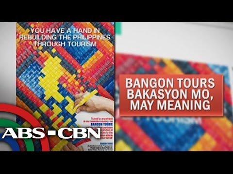 "Bangon Tours ""Bakasyon Mo, May meaning"" eyed in calamity-struck Visayas"