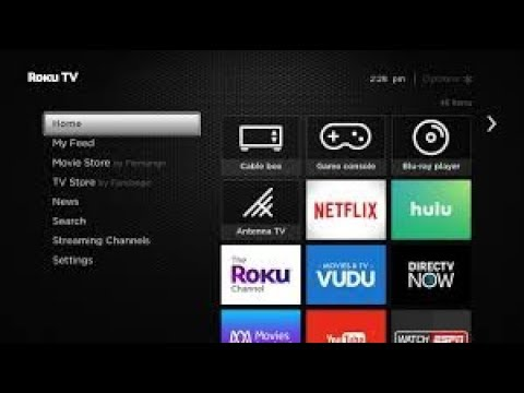 roku tv and live streaming services and channel apps youtube