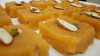 Chana Dal Barfi-Very Tasty-Easy Recipe