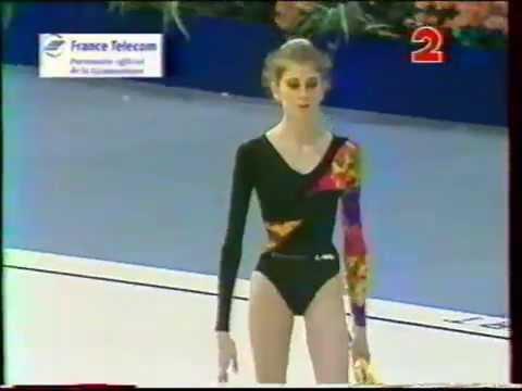 Eva SERRANO (FRA) clubs - 1994 Paris worlds EF