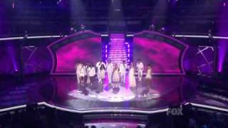 American Idol - Group Performance - Keeping the Dream Alive (Top 12 reunited)