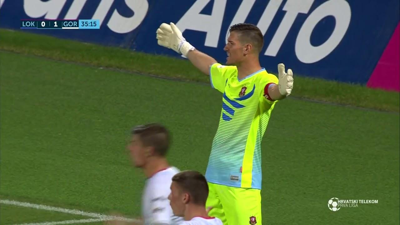 Локомотива Загреб  1-2  Горица видео