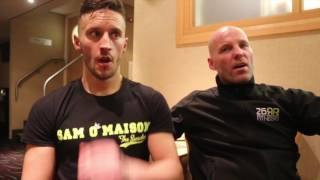 'MORE THAN READY' -SAM O'MAISON & RYAN RHODES DISCUSS WIN OVER JANIK & TARGET ENGLISH/BRITISH TITLES