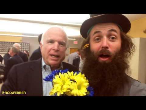 John McCain endorses Rod Webber/ talks about Canyon De Chelley