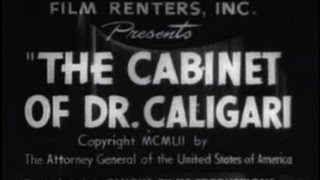 The Cabinet Of Dr. Caligari (1920) [silent Movie] [horror]