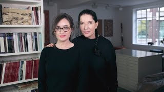 11 minutes with Marina Abramovic