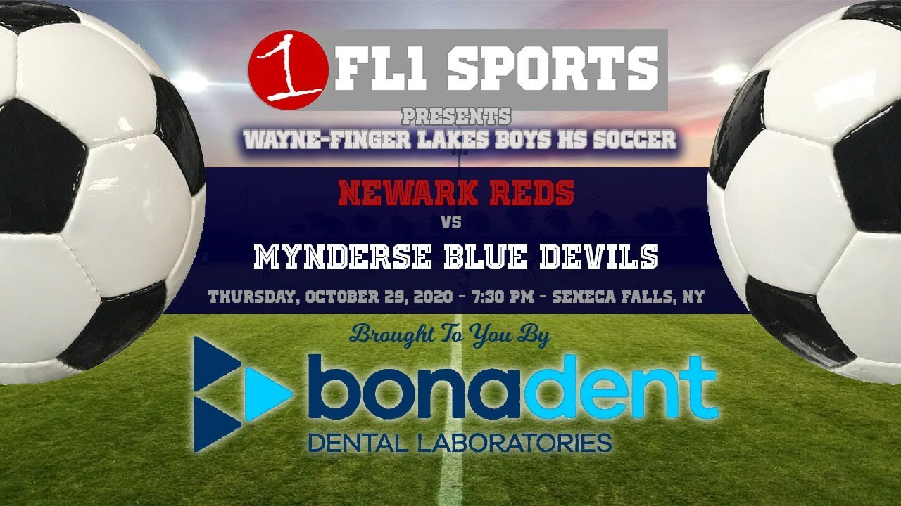 WATCH LIVE TONIGHT: Mynderse host Newark in FL East boys soccer action (FL1 Sports)
