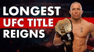 The Longest Title Reigns in UFC History