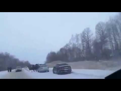 Cтрашное ДТП на трассе Хабаровск-Биробиджан