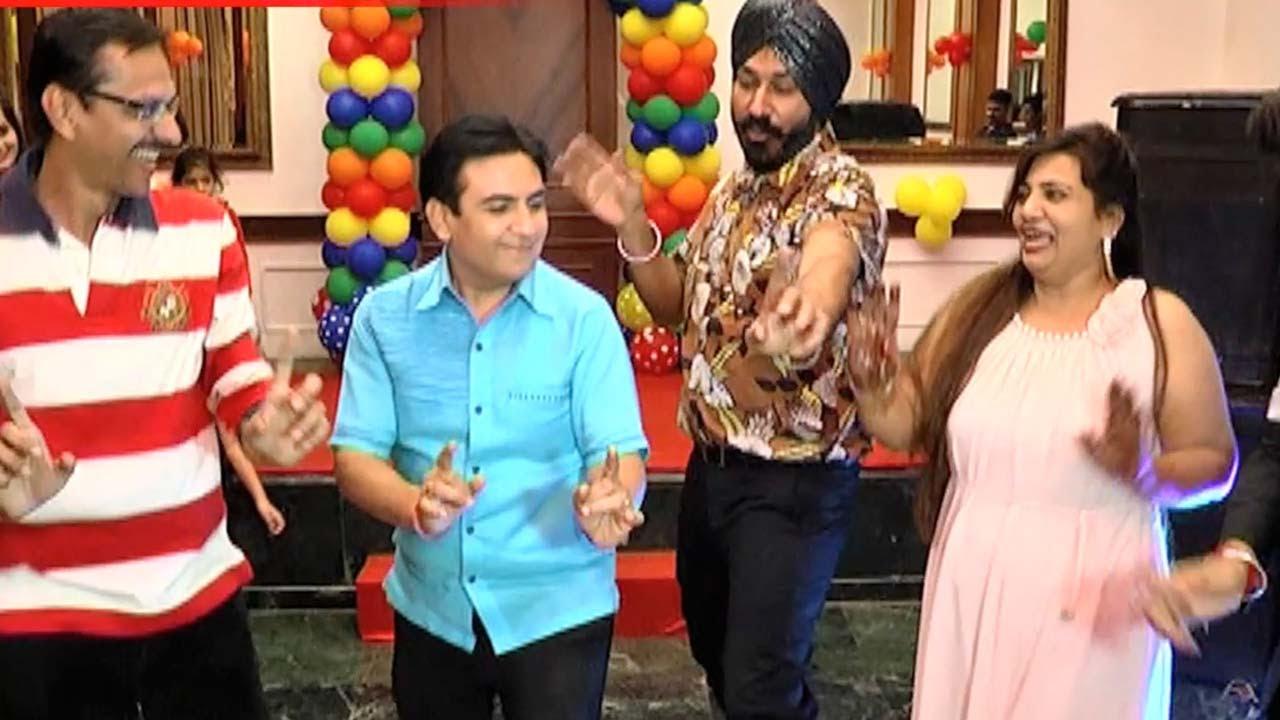 Taarak Mehta Ka Ooltah Chashmah Cast Celebrate Birthday ... Taarak Mehta Ka Ooltah Chashmah Cast