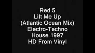 Red 5, Lift Me Up (Atlantic Ocean Mix) HD Vinyl 1997