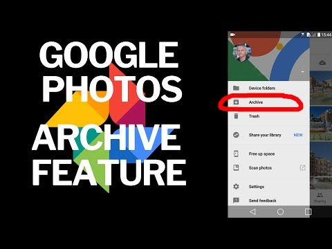 Google Photos How to Use the Archive Feature