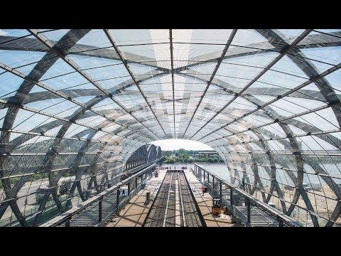 Das Raumschiff an der Elbe: So spektakulär ist die neue U4-Station Elbbrücken