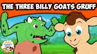 THREE BILLY GOATS GRUFF - English Fairy Tales | Bedtime Stories | English Cartoon For Kids