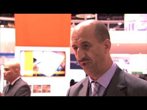 Abdellatif Hasni   VP Oil Serv, spoke to Eithne Treanor at ADIPEC 2012 in Abu Dhabi, UAE