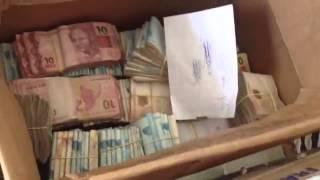 Video da apreensão de dinheiro vivo na casa do diretor da Queiroz Galvão.