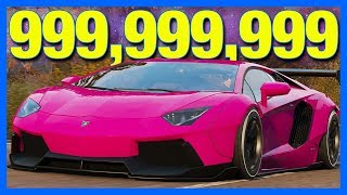 How I Got 999,999,999 Credits in Forza Horizon 4